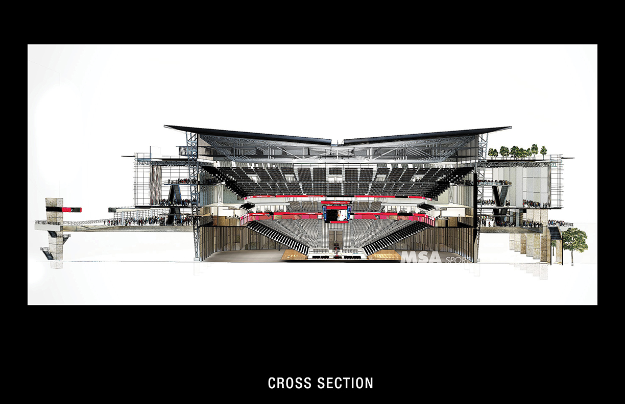 Us bank arena a new vision malvernweather Image collections