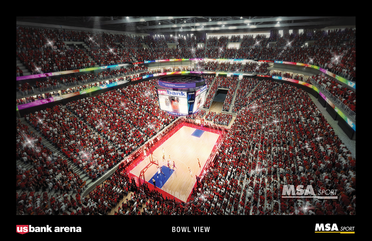US Bank Arena A New Vision - Us bank arena seat map