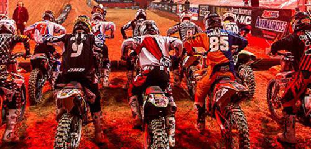 Monster Energy Supercross Track Layouts Transworld Motocross - Us bank arena map