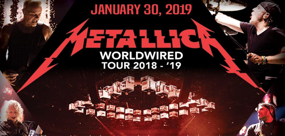 U S  Bank Arena - Metallica - WorldWired Tour