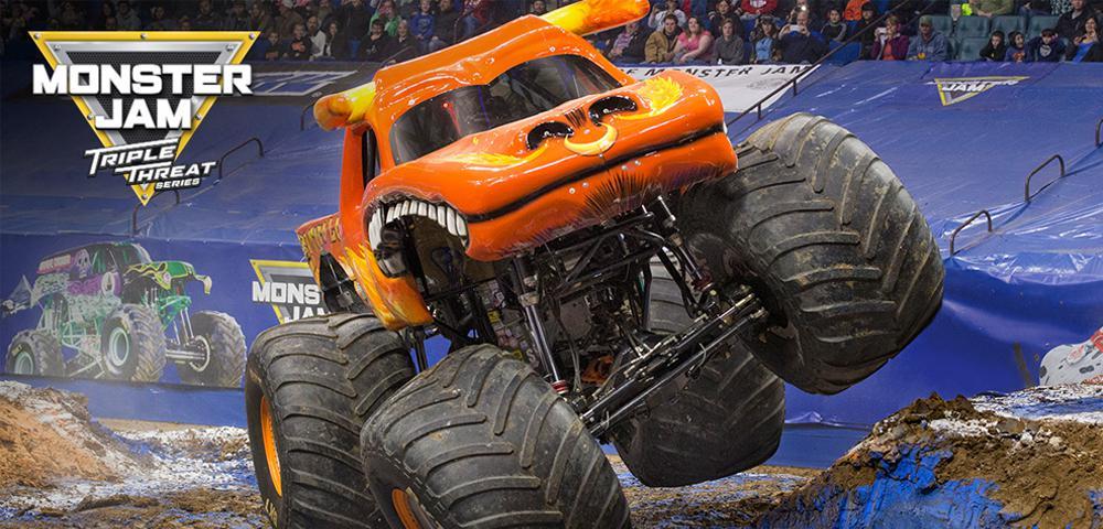 U S Bank Arena Monster Jam Triple Threat Series