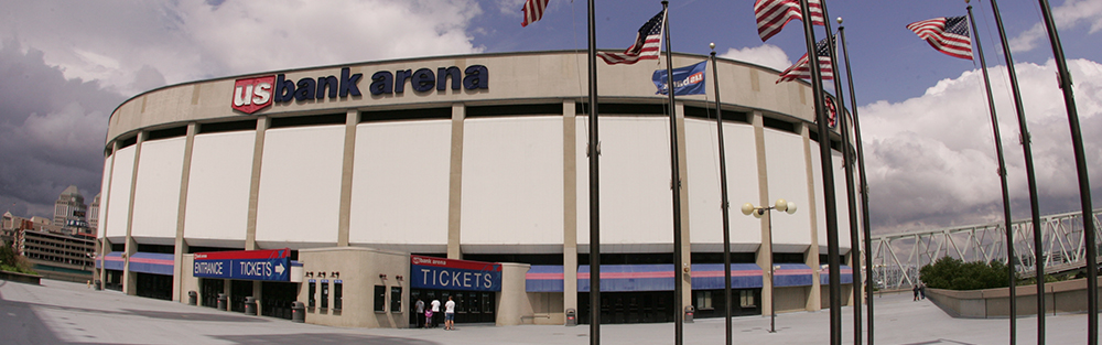 US Bank Arena Arena Information - Map us bank arena